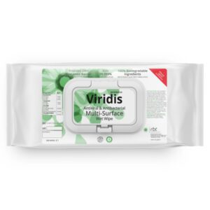 Protectus Viridis Multi-Surface Disinfectant Wet Wipes